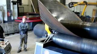 getlinkyoutube.com-3 Rolls bending cone