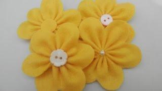 getlinkyoutube.com-Flor de feltro 5