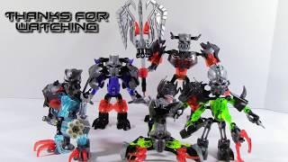getlinkyoutube.com-Lego Bionicle MOC: Skull Villian Minis