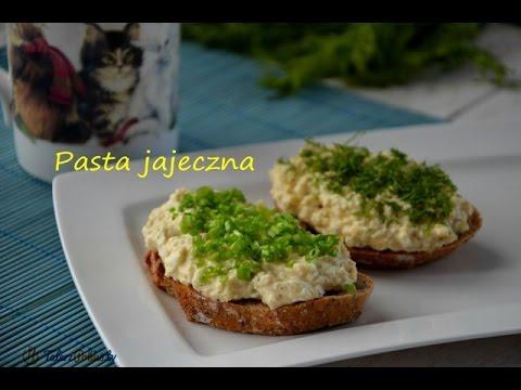 Pasta jajeczna do kanapek