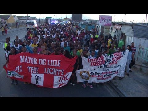 SJC members agitate for a safer Khayelitsha