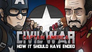 איך קפטן אמריקה: מלחמת האזרחים היה אמור להסתיים