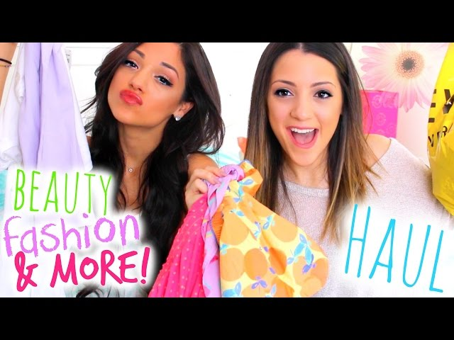 HUGE Spring Fashion + Beauty Haul 2015