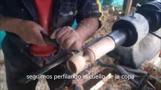 Video Tutorial Torneado De Madera Copa Decorativa