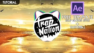 getlinkyoutube.com-[Turorial] - Free Template Audio Spectrum Trap Nation Style + Tutorial | Adobe After Effects 2015