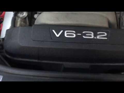 Audi A6 C6, 3.2 FSI engine sound Звук двигателя