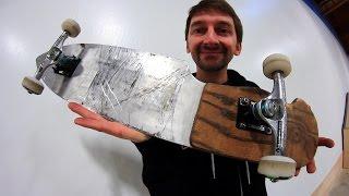 THE KNIFE SKATEBOARD | YOU MAKE IT WE SKATE IT EP 93