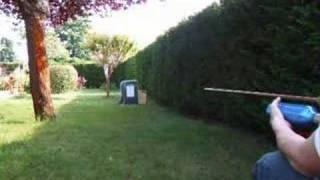 tir de plombs avec  un airgun perso