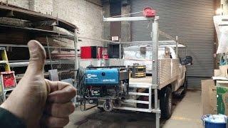 getlinkyoutube.com-Homemade Pickup Truck Jib crane