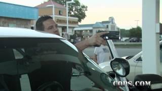 getlinkyoutube.com-Slip, Slide and Away, Officer Kyle Parris, COPS TV SHOW