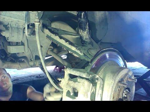 Toyota Mark2 - Замена сайлентблоков задних верхних рычагов