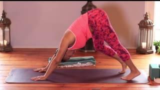 getlinkyoutube.com-Full Length Gentle Yoga Class Vol. 3 - for beginners & seniors