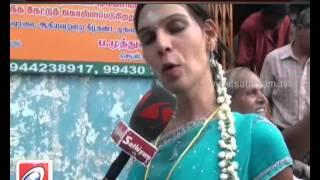 getlinkyoutube.com-Transgender posing as newly married, danced and enjoyed throughout the night-Sathiyam TV News