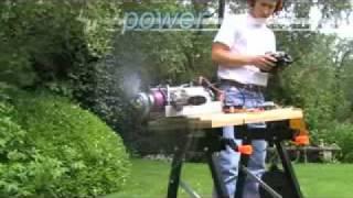 getlinkyoutube.com-Jetcat SPT5 Turbo Prop (micro turbine)