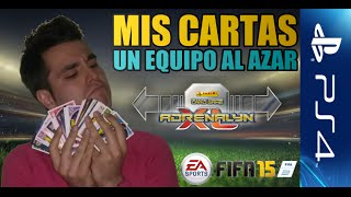 getlinkyoutube.com-Mis cartas, un equipo al azar. Adrenalyn XL 2015 Liga BBVA | FIFA 15: Ultimate team