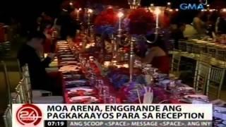 24 Oras: Enggrandeng kasalan nina Dingdong at Marian