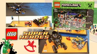 LEGO Minecraft and DC Super Heroes Summer 2016: My Thoughts! (German Toy Fair)