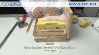 getlinkyoutube.com-How to Make Men's Penis by Using Silicone Rubber?