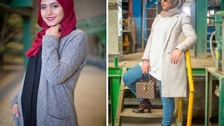 getlinkyoutube.com-ملابس لأصحاب الفولار  2017 لنساء والبنات بأشكال متناسقة وأكثر جمالية