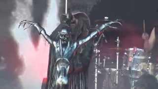 getlinkyoutube.com-Rob Zombie - Dragula (Live) @ Nova Rock festival 2014