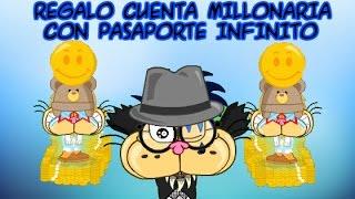 getlinkyoutube.com-CUENTA MILLONARIA CON PASAPORTE INFINITO | Mundo Gaturro | Tato De MG