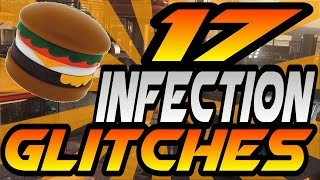 getlinkyoutube.com-17 Infection/Burger Town Glitches! - All High Ledges, Pile-Ups, Invincible Spots (AW Exo Zombies)