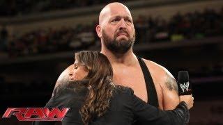 getlinkyoutube.com-Stephanie McMahon informs Big Show he has no choice but to face Daniel Bryan: Raw, Sept. 2, 2013