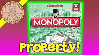 getlinkyoutube.com-Chocolate Edition Monopoly Fast Dealing Property Trading Board Game Eat Your Properties