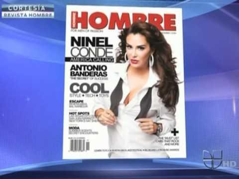 Ninel Conde posa para la revista Hombre - 'El Gord... - AOL Video.flv