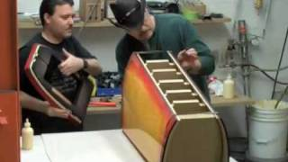 getlinkyoutube.com-Building a CS3.7 Gibson Finish Speaker