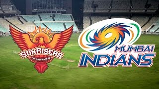 Mumbai Indians vs Sunrisers Hyderabad, IPL 2015 Match 23