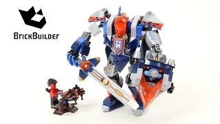 getlinkyoutube.com-Lego Nexo Knights 70327 The King's Mech - Lego Speed build