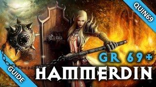 getlinkyoutube.com-Diablo 3: GR69+ Hammerdin Crusader Guide (Solo | 2.3 | Season 4)