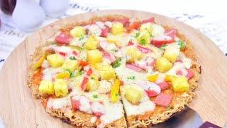 getlinkyoutube.com-พิซซ่ามาม่า Noodle Pizza