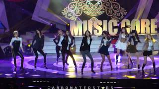 getlinkyoutube.com-[HD fancam] 111203 Music Core - SNSD The Boys Rehearsal