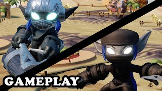Skylanders Superchargers - Dark Super Shot Stealth Elf & S3 Dark Stealth Elf GAMEPLAY
