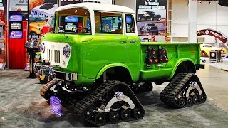 getlinkyoutube.com-Trucks, Tires, Winches & Offroad Suspension Upgrades with Fred! - 2014 SEMA Week Ep. 4