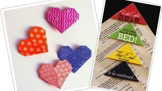 getlinkyoutube.com-¡Haz tus propios separadores de libros! Bookmarks DIY