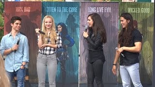 getlinkyoutube.com-Descendants cast interview during Fan Event at Downtown Disney