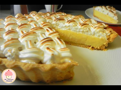 Pay de limón con merengue italiano / Lemon pie with italian meringue