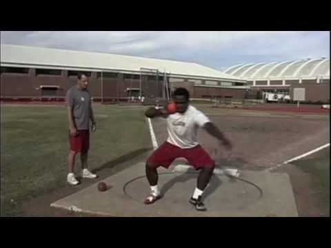 Track &amp; Field Throwing Shot Put - Discus - Javelin Coaching Training