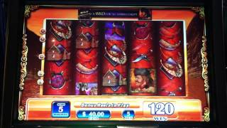 getlinkyoutube.com-Wild Frontier Slot Machine Bonus High Limit - Big Win!