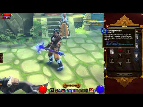 Torchlight 2: Engineer Skills & Abilities, Beta