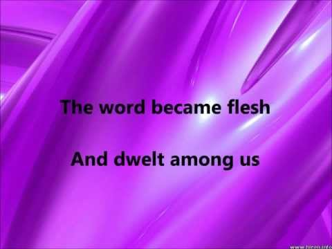 Colin Buchanan - The Word Became Flesh - W Lyrics