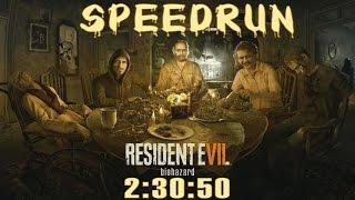 getlinkyoutube.com-Resident Evil 7 Biohazard Speedrun (2:30:50) - Full Game Walkthrough