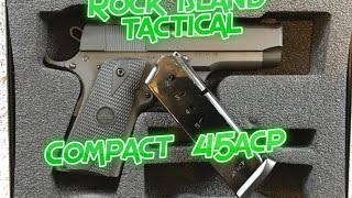 Rock Island Tactical 1911: Compact 45acp!!