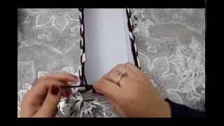 getlinkyoutube.com-Comment tricoter une écharpe avec une boîte