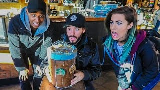 THE $102 STARBUCKS COFFEE!!! w/ Andie Case