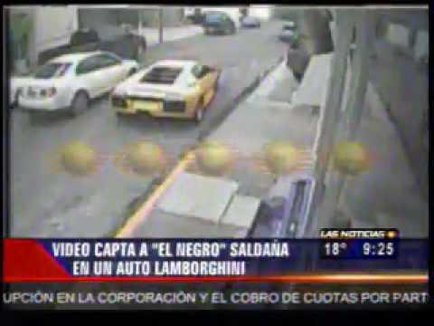 Antes de ser ejecutado, 'El Negro' paseaba en Lamborghini