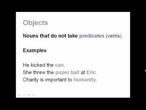 Subjects, Predicates, and Objects | English Grammar and Sentence Structure Lesson